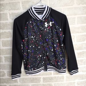 Girls youth Under Armour jacket size 12/14